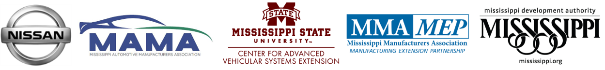 Innovation Conference Sponsers: Nissan, MAMA, MSU CAVS Extension, MMA MEP, Mississippi Economic Authority