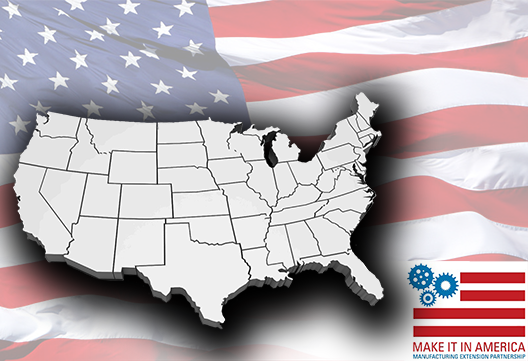 Make it in America: Helping U.S. Manufacturers Create Jobs, Increase Profits and Save Time and Money.