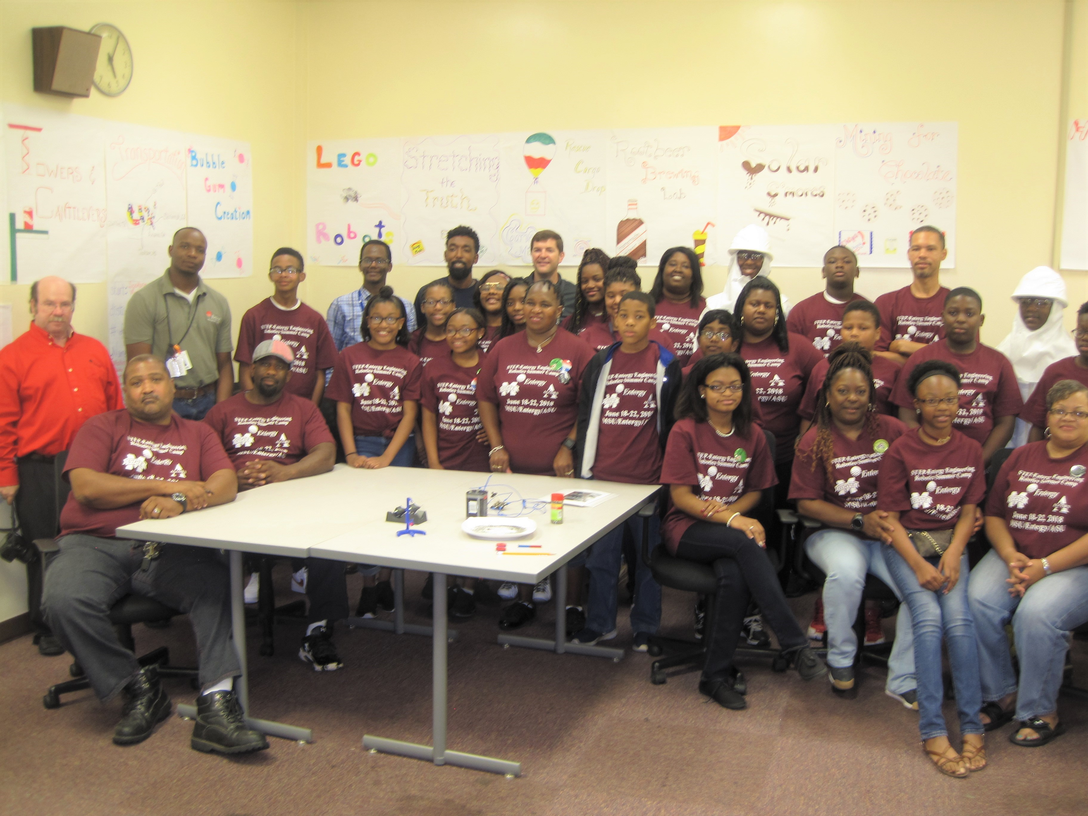 Cavse Step Entergy Engineering Robotics Summer Camp For Middle School